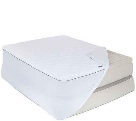 Aerobed Insulated Antimicrobial Mattress Topper- Queen
