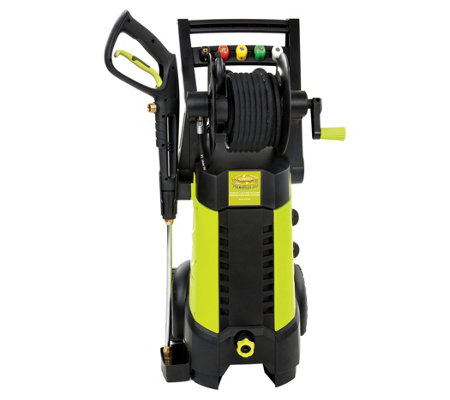 Sun Joe 2030 PSI 14.5-Amp Electric Pressure Washer + Hose Reel