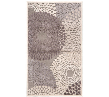 Nourison Graphic Illusions Grey 2 3 X 3 9 Area Rug