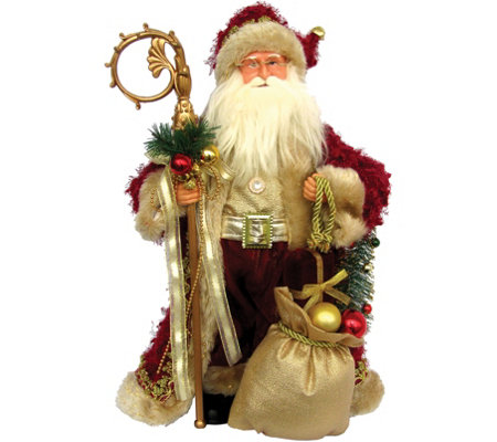 "15"" Aristocrat Claus by Santa's Workshop"