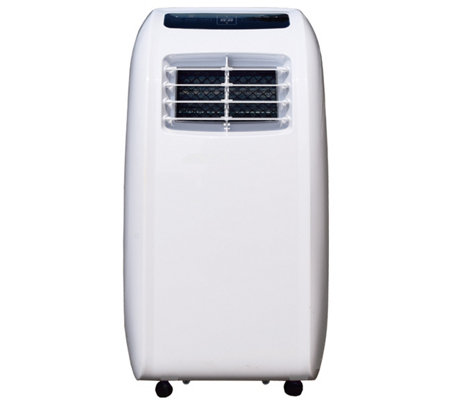 Portable AC & Dehumidifier with Remote for 200-sq ft Room