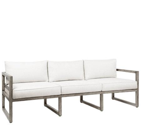 Real Flame Monaco Three Seat Outdoor Sofa