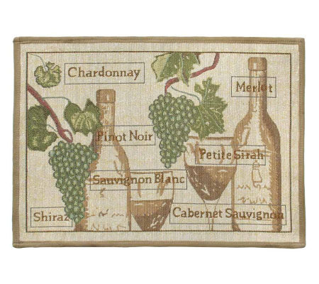 Fruit of the Vine 19x27 Tapestry Rug