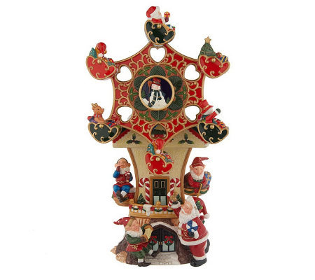 thomas pacconi handcrafted holiday ferris wheel