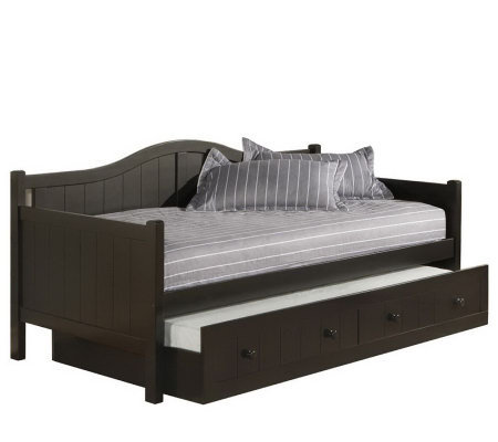 Hillsdale Furniture Staci Daybed with Support Deck& Trundle