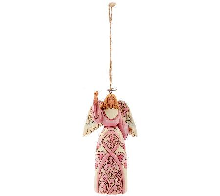 Jim Shore Breast Cancer Awareness Ornament