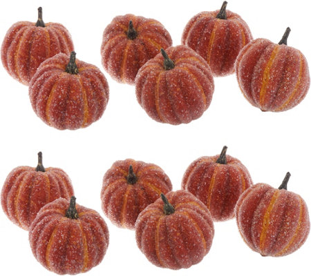 Set of 2 Boxes of Beaded Pumpkin Filler by Valerie
