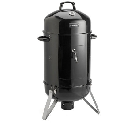 "Cuisinart 16"" Vertical Charcoal Smoker"