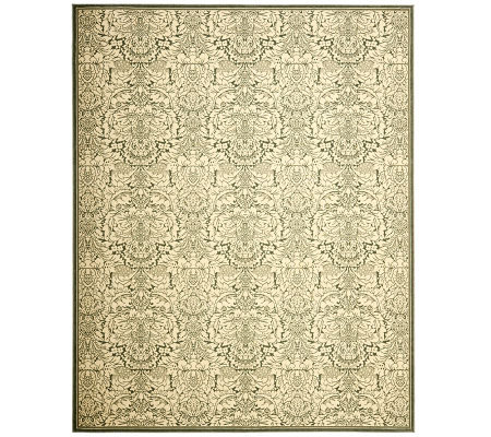 Treasures Damask Power-Loomed Rug - 4' x 6'