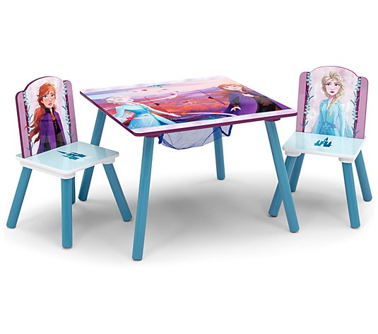 Disney Frozen II Table & Chair Set with Storage
