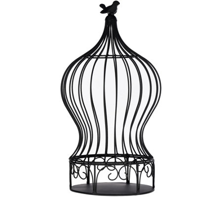 "21"" Indoor/Outdoor Metal Birdcage"
