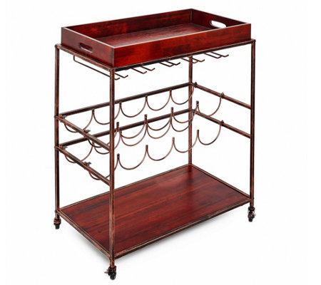 Old Dutch Avalon Wine And Serving Cart