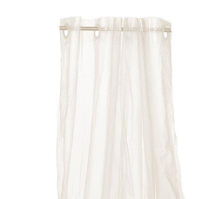 Hookless 12 Ring Vinyl Shower Curtain Liner