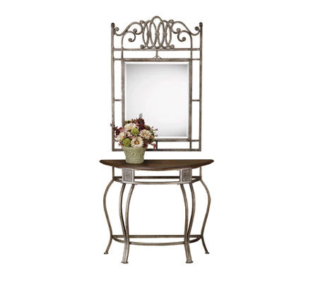 Hillsdale House Montello Console Table and Mirror