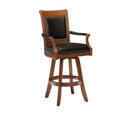 Hillsdale Furniture Kingston Game Leather BackBar Stool