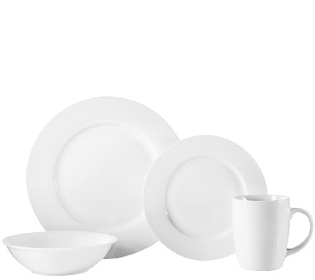 Oneida Naturally White 16-Pc Dinnerware Set