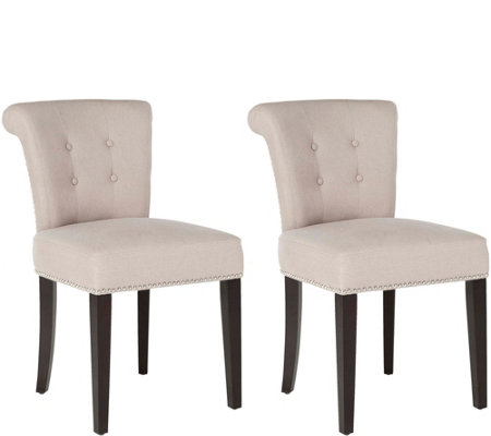 Sinclair Set of 2 Ring Chairs by Valerie