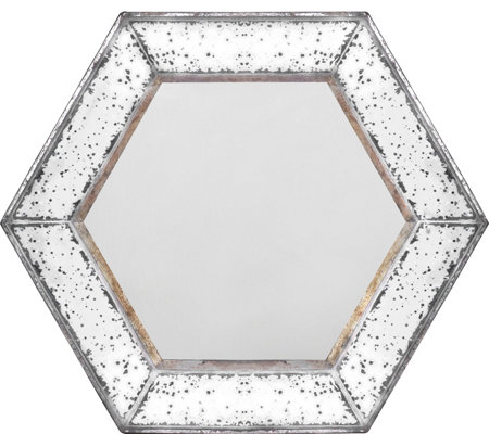 Herrick Hexagonal Mirror by Valerie