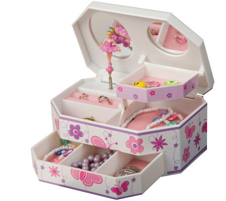 "Mele & Co. ""Kelsey"" Musical Ballerina Jewelry Box"