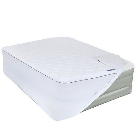 Coleman Insulated Antimicrobial Aerobed Mattress Topper Full