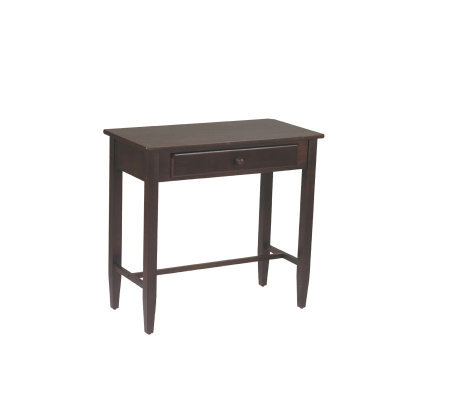 Espresso Collection Foyer Table by Office Star