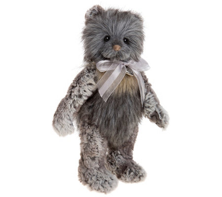 "Charlie Bears Collectible 11"" Winter Plush Bear"