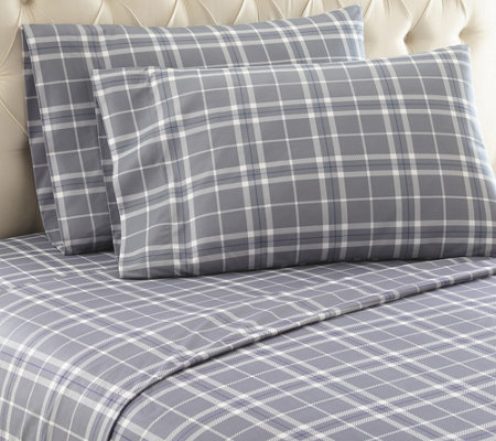 Shavel Micro Flannel(R) Printed Twin Sheet Set
