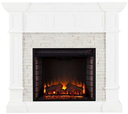 Anderson Corner Convertible Electric Fireplace