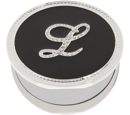 Crystal Initial Compact Mirror with Magnification by Lori Greiner