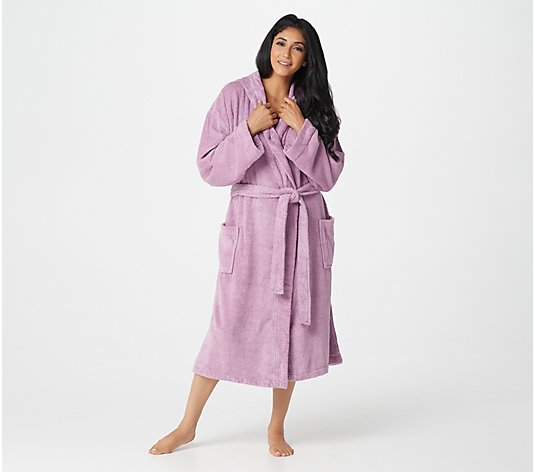 Farm to Home 100% Organic Cotton Hooded Terry Robe