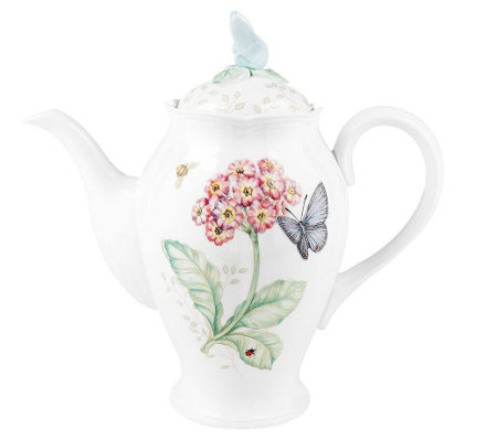 Lenox Butterfly Meadow Coffee Pot