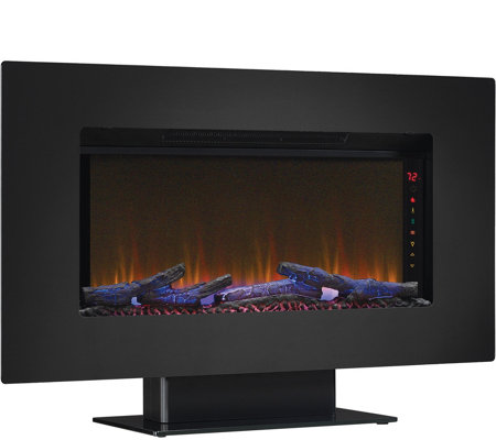 "Classic Flame Elysium 36"" Wall-Mounted Infrared  Fireplace"