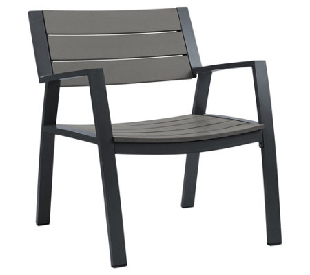 Real Flame Set of 2 Anson Outdoor Chair Set