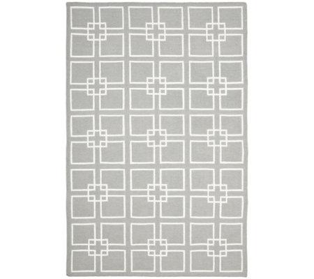 Martha Stewart Square Dance 5' x 8' Rug