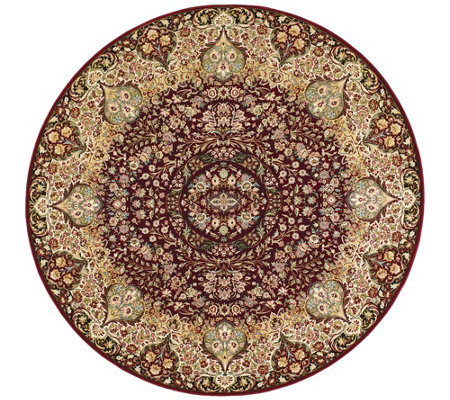 Kathy Ireland Stately Empire 7 10 X 7 10 Round Rug