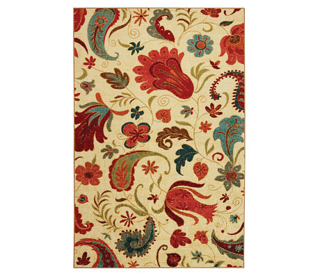 Mohawk Home Strata Tropical Acres 5' x 8' Rug