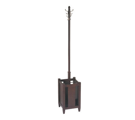 Espresso Collection Coat Rack by Office Star