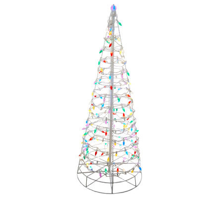 4 pre lit collapsible outdoor christmas tree with led lights page 4 pre lit collapsible outdoor christmas tree with led lights aloadofball Choice Image
