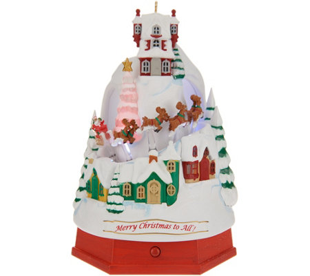 Hallmark Keepsake North Pole Tabletop Ornament