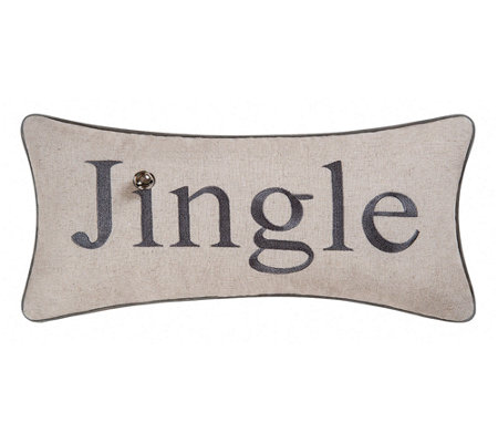 Jingle Pillow By C F Home