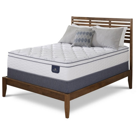 Serta Perfect Sleeper Freeport Eurotop Twin Mattress Set