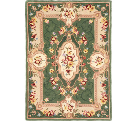 """As Is"" Royal Palace Special Edition Savonnerie 5' x 7' Rug"
