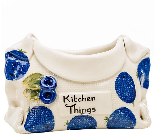 "Stable Door Pottery ""Kitchen Things"" Container"