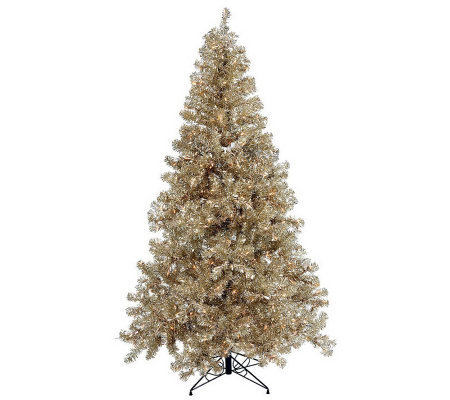 7' Colored PVC Tree with Mini Lights by Vickerman
