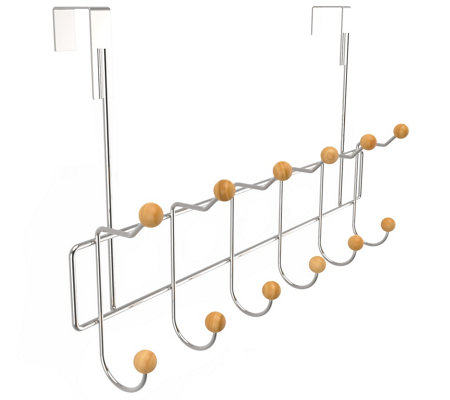 Lavish Home Over-the-Door Bathroom Organizer Rack