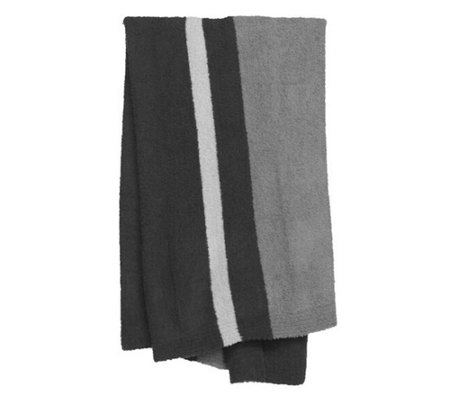 Barefoot Dreams Cozychic Block Stripe Throw