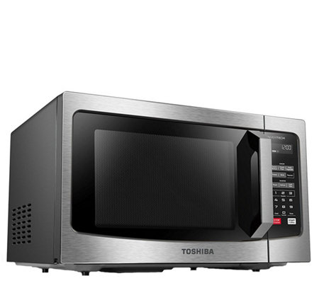 Toshiba EM245A5C-CHSS 1.6 Cubic Foot StainlessSteel Microwave