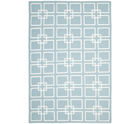 Martha Stewart Square Dance 6' x 9' Rug