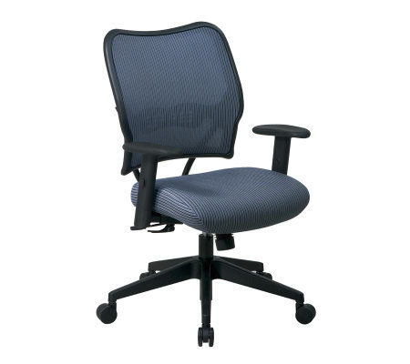 Office Star Steel Blue Deluxe Chair with VeraFlex