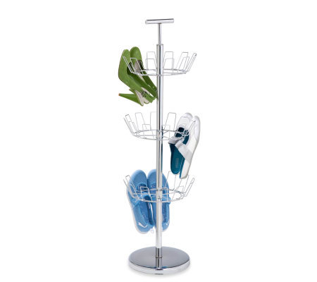 Honey-Can-Do 3-Tier Chrome Shoe Tree